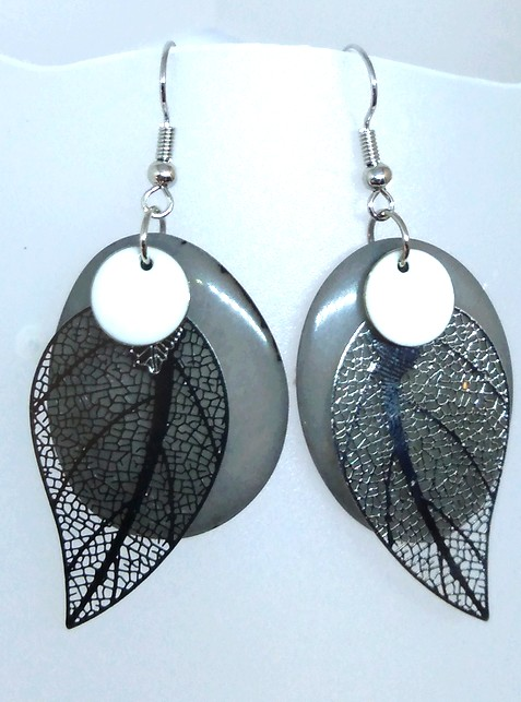 boucles tagua gris