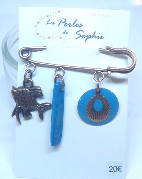 broche bleu 2